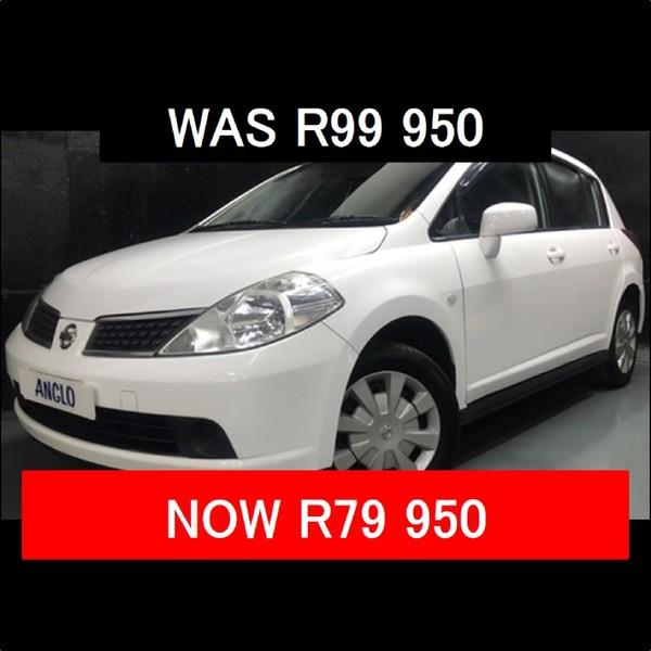 2007 Nissan Tiida 1.6 Visia  MT Hatch Gauteng Benoni_0