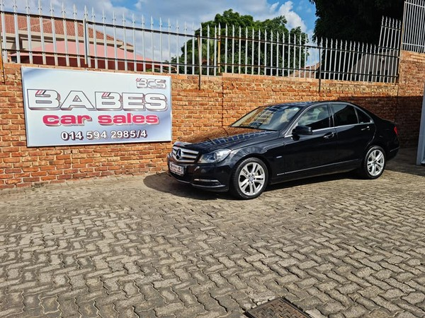 2011 Mercedes-Benz C-Class C200 Cgi Be Classic At  North West Province Rustenburg_0
