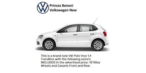 2021 Volkswagen Polo Vivo 1.4 Trendline 5-Door Gauteng Benoni_0