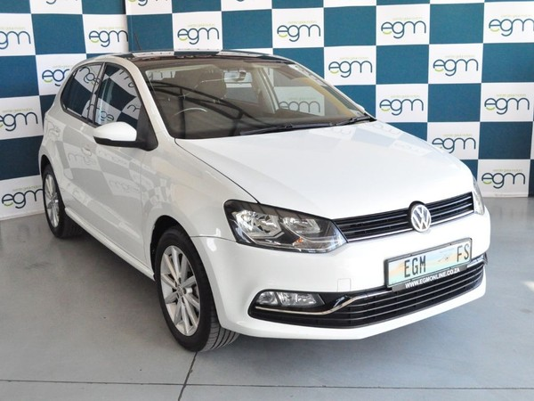2016 Volkswagen Polo 1.2 TSI Highline 81KW Free State Bloemfontein_0