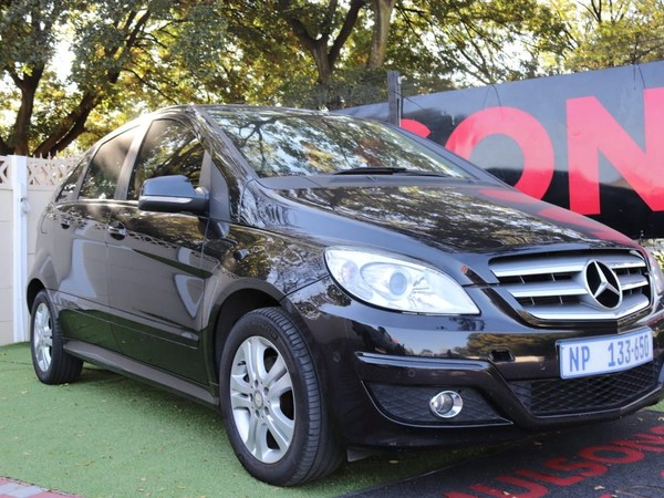 2010 Mercedes-Benz B-Class B 200 At  Gauteng Boksburg_0
