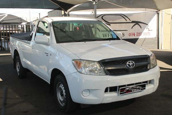 2008 Toyota Hilux 2.5d-4d Srx Pu Sc  Gauteng Johannesburg_0