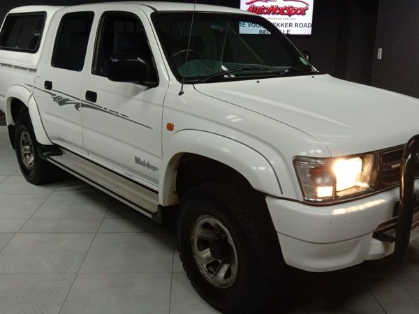 2002 Toyota Hilux 3000kz-te Raider Rb Pu Dc  Western Cape Cape Town_0