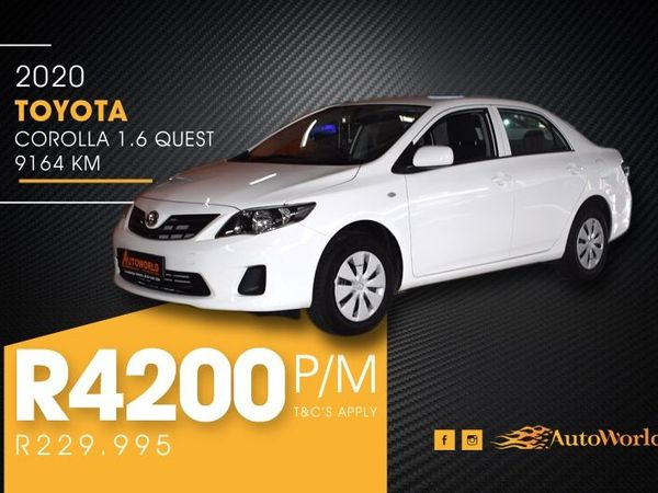 2020 Toyota Corolla Quest 1.6 Western Cape Goodwood_0