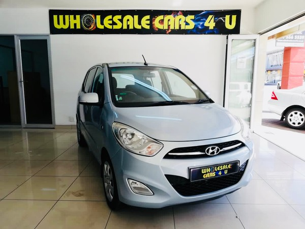 2014 Hyundai i10 125 GLS FLUID AT FACE LIFT Gauteng Benoni_0