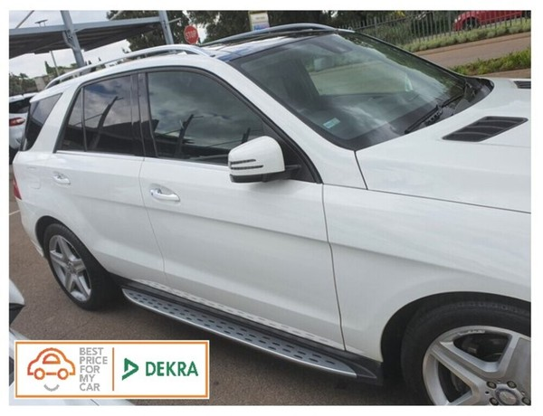 2015 Mercedes-Benz M-Class Ml 350 Bluetec  Gauteng Centurion_0