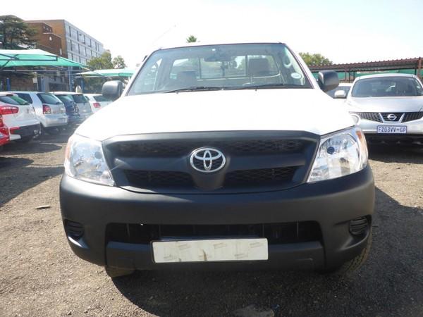2008 Toyota Hilux 2.5 D-4d Raider Rb Pu Dc  Gauteng Johannesburg_0