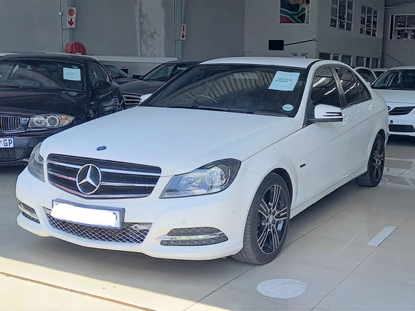 2013 Mercedes-Benz C-Class C200 Be Elegance At  Limpopo Polokwane_0