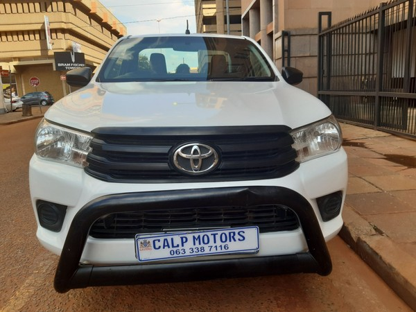 2018 Toyota Hilux 2.4 GD AC Single Cab Bakkie Gauteng Marshalltown_0