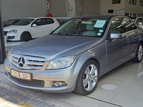 2011 Mercedes-Benz C-Class C180 Cgi Be Elegance At  Limpopo Polokwane_0