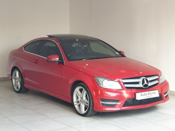 2013 Mercedes-Benz C-Class C180 Be Coupe At  Gauteng Boksburg_0