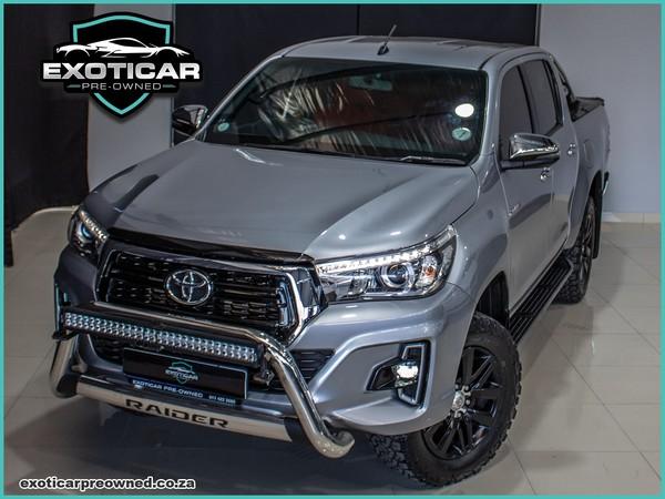 2019 Toyota Hilux 2.8 GD-6 RB Auto Raider Double Cab Bakkie Gauteng Benoni_0