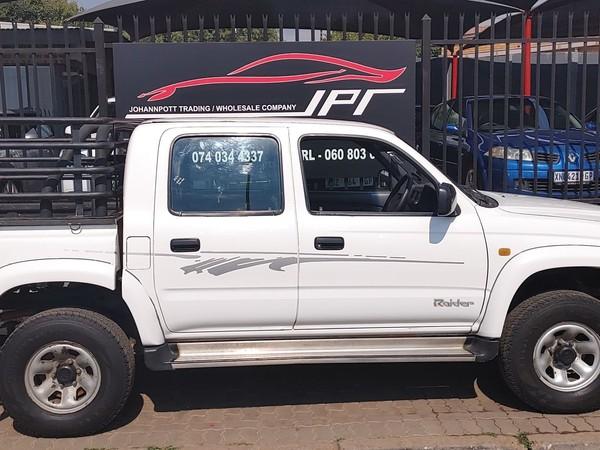 2001 Toyota Hilux 3000kz-te Raider Rb Pu Dc  Gauteng Pretoria_0