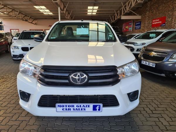 2016 Toyota Hilux 2.4 GD Single Cab Bakkie Gauteng Vereeniging_0
