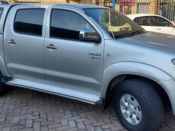 2007 Toyota Hilux 4.0 Raider 4x4 Pu Dc  Gauteng Centurion_0