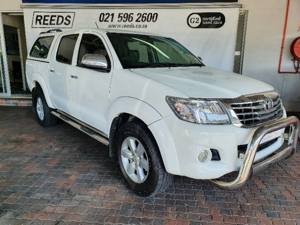 2012 Toyota Hilux 2.7 Vvti Heritage Rb Pu Dc  Western Cape Goodwood_0