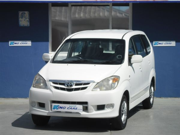 2011 Toyota Avanza 1.5 Sx  Eastern Cape Port Elizabeth_0