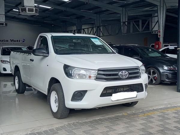 2016 Toyota Hilux 2.4 GD Single Cab Bakkie Limpopo Polokwane_0