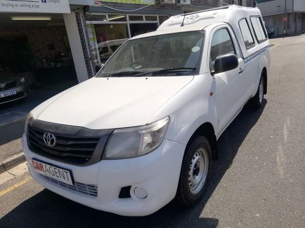 2014 Toyota Hilux 2.5 D-4d Pu Sc  Kwazulu Natal_0