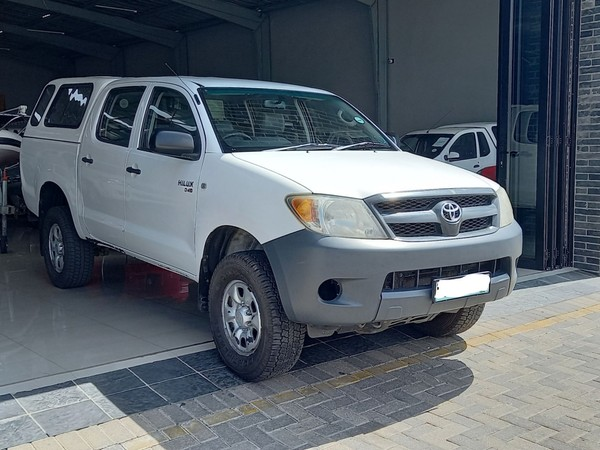 2008 Toyota Hilux 2.5d-4d Srx 4x4 Pu Dc  Limpopo Polokwane_0