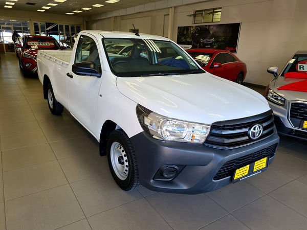 2020 Toyota Hilux 2.0 VVT Single Cab Bakkie Mpumalanga White River_0