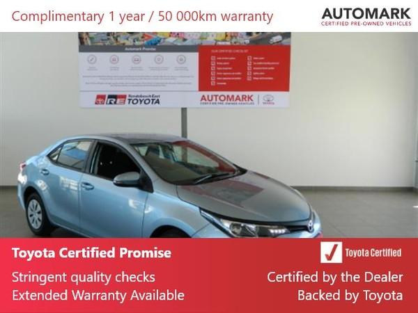 2020 Toyota Corolla Quest 1.8 Western Cape Rondebosch_0