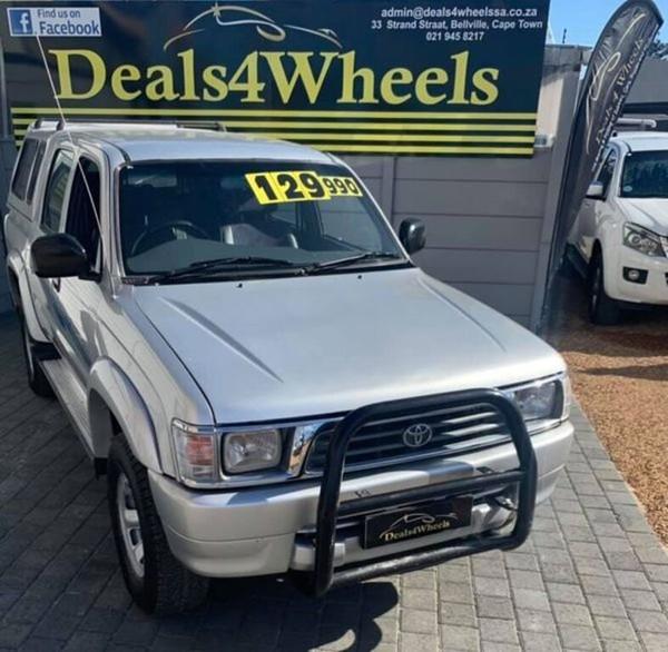 1999 Toyota Hilux 3.0d Raider Rb Pu Dc  Western Cape Bellville_0