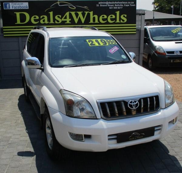 2008 Toyota Prado 4.0 V6 VX Auto Western Cape Bellville_0