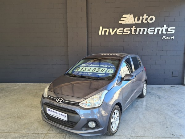 2016 Hyundai Grand i10 1.25 Fluid Western Cape Paarl_0