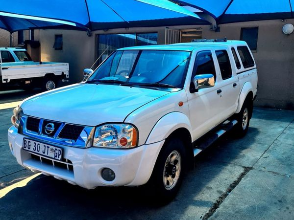 2011 Nissan NP300 2.4i HiRider k13k31 Bakkie Double cab Gauteng Johannesburg_0