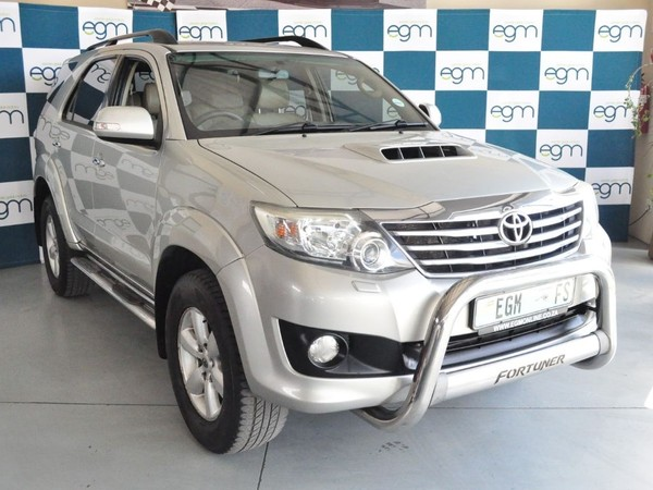 2011 Toyota Fortuner 3.0d-4d Rb  Free State Bloemfontein_0