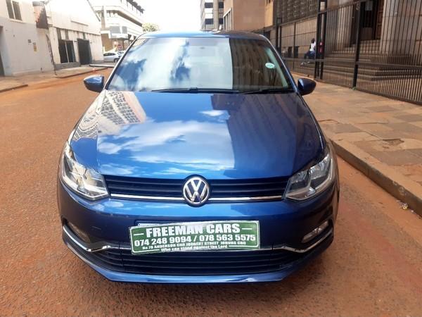2017 Volkswagen Polo 1.4 Comfortline Gauteng Johannesburg_0
