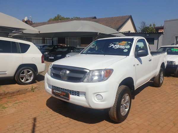 2008 Toyota Hilux 2.5d-4d Srx 4x4 Pu Sc  Gauteng Boksburg_0