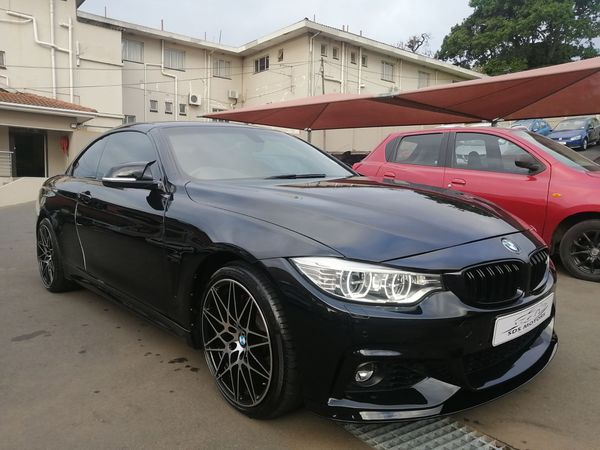 2016 BMW 4 Series 435i Convertible M Sport Auto Kwazulu Natal Bluff_0