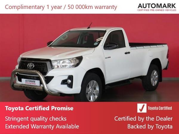 2018 Toyota Hilux 2.4 GD-6 RB SRX Single Cab Bakkie Limpopo Polokwane_0