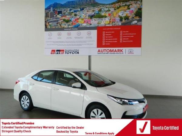 2020 Toyota Corolla Quest 1.8 CVT Western Cape Rondebosch_0
