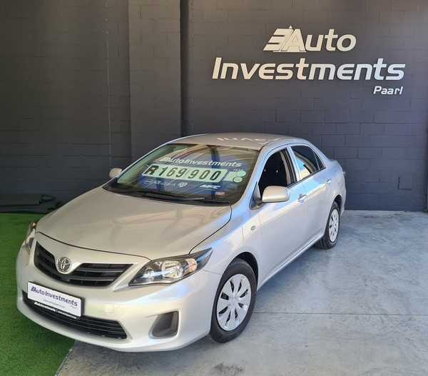 2016 Toyota Corolla Quest 1.6 Auto Western Cape Paarl_0