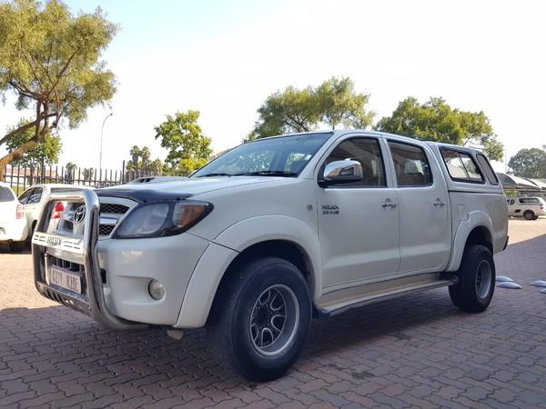 2008 Toyota Hilux 3.0 D-4d Raider 4x4 Pu Dc  Gauteng Germiston_0