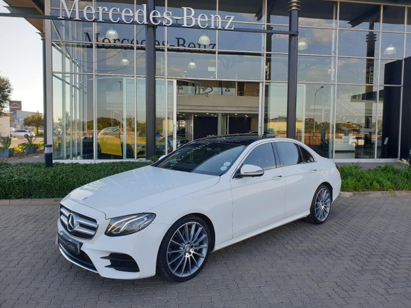 2016 Mercedes-Benz E-Class E 350d AMG Gauteng Vereeniging_0