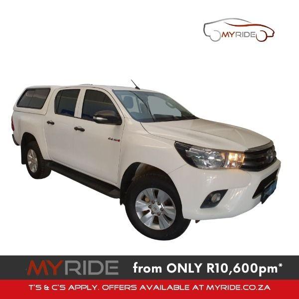 2018 Toyota Hilux 2.4 GD-6 RB SRX Double Cab Bakkie Gauteng Westonaria_0
