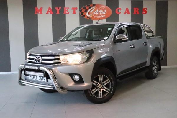 2017 Toyota Hilux 2.8 GD-6 Raider 4x4 Double Cab Bakkie Mpumalanga Delmas_0