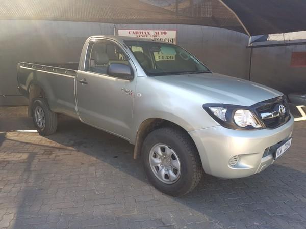 2007 Toyota Hilux 2.5d-4d Pu Sc  Gauteng Johannesburg_0
