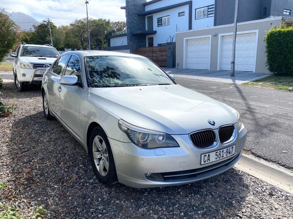 2008 BMW 5 Series 525i At e60  Western Cape Plumstead_0