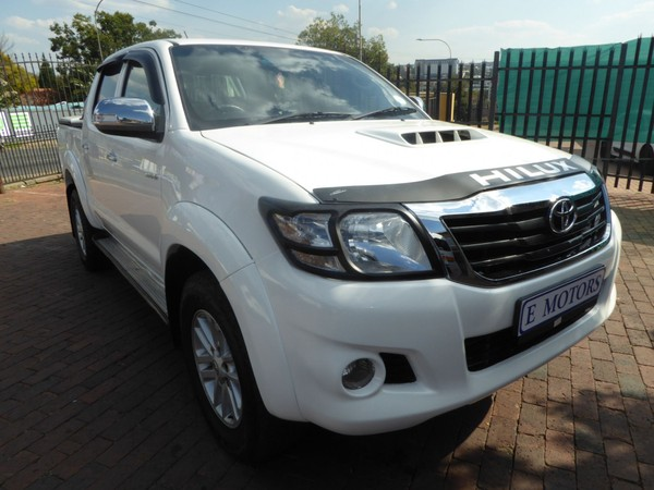 2012 Toyota Hilux 3.0 D-4d Raider 4x4 At Pu Dc  Gauteng Bramley_0