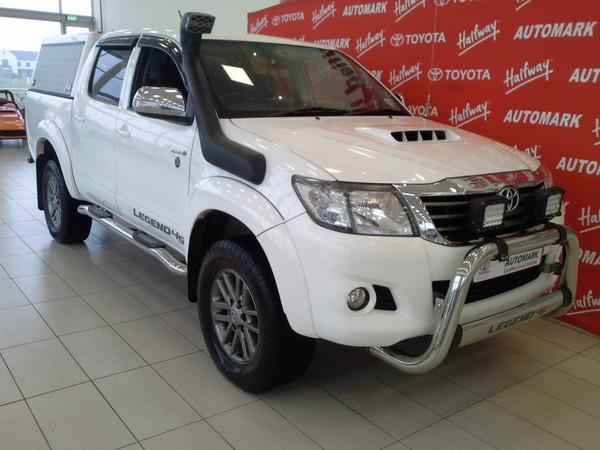 2015 Toyota Hilux 3.0 D-4D LEGEND 45 4X4 Double Cab Bakkie Western Cape George_0