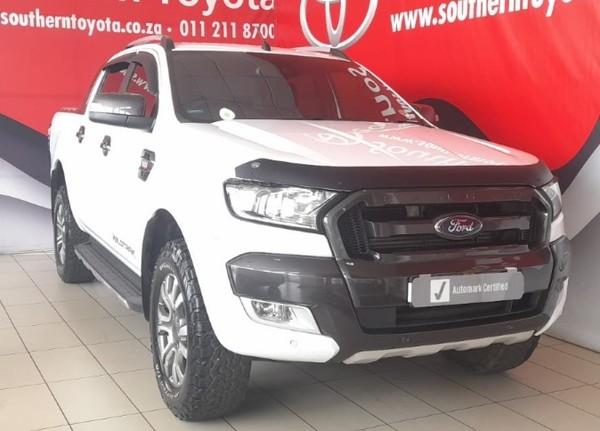 2018 Ford Ranger 3.2TDCi WILDTRAK Auto Double Cab Bakkie Gauteng Lenasia_0