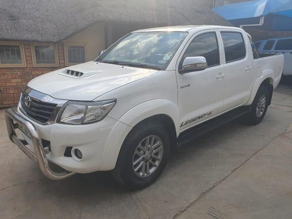 2015 Toyota Hilux 3.0 D-4D LEGEND 45 4X4 Auto Double Cab Bakkie Limpopo Polokwane_0