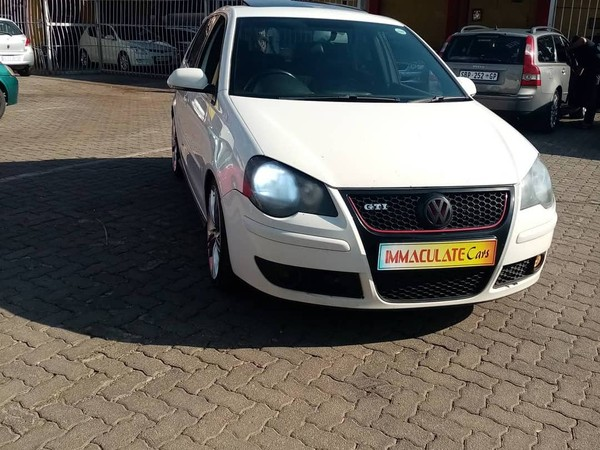 2009 Volkswagen Polo Gti 1.8t  Gauteng Benoni_0