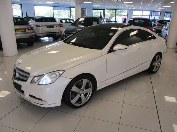 2009 Mercedes-Benz E-Class E 500 Coupe  Kwazulu Natal Umhlanga Rocks_0