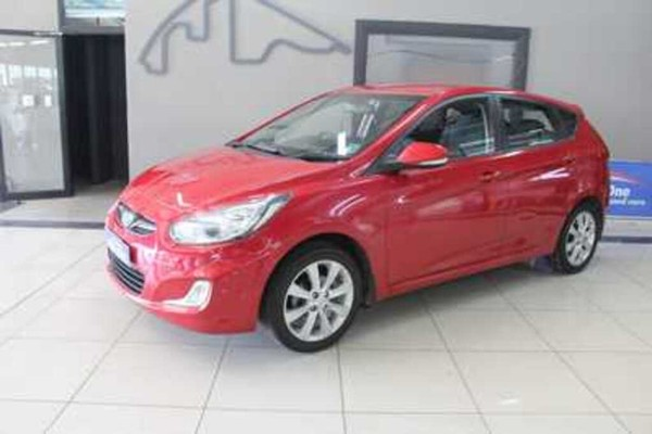 2014 Hyundai Accent 1.6 Fluid 5-Door Western Cape Parow_0